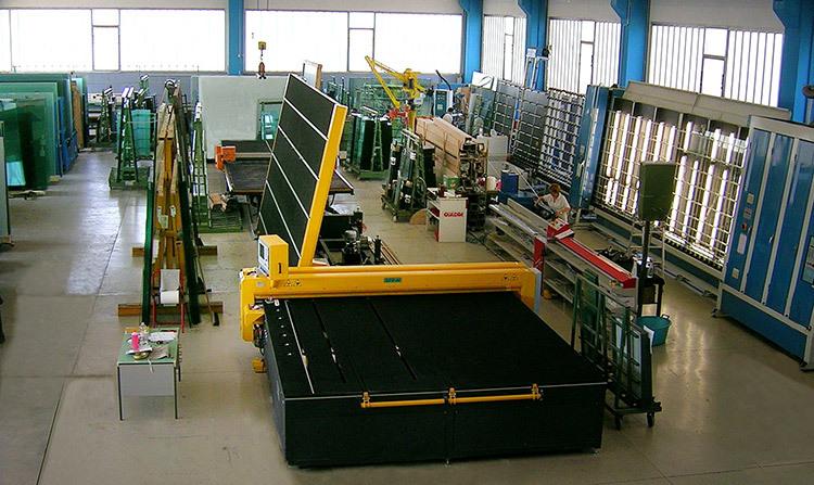 Covadis gfp les tables et lignes de coupe abatteuses d 39 ar tes horizontales et verticales - Machine a couper le verre ...